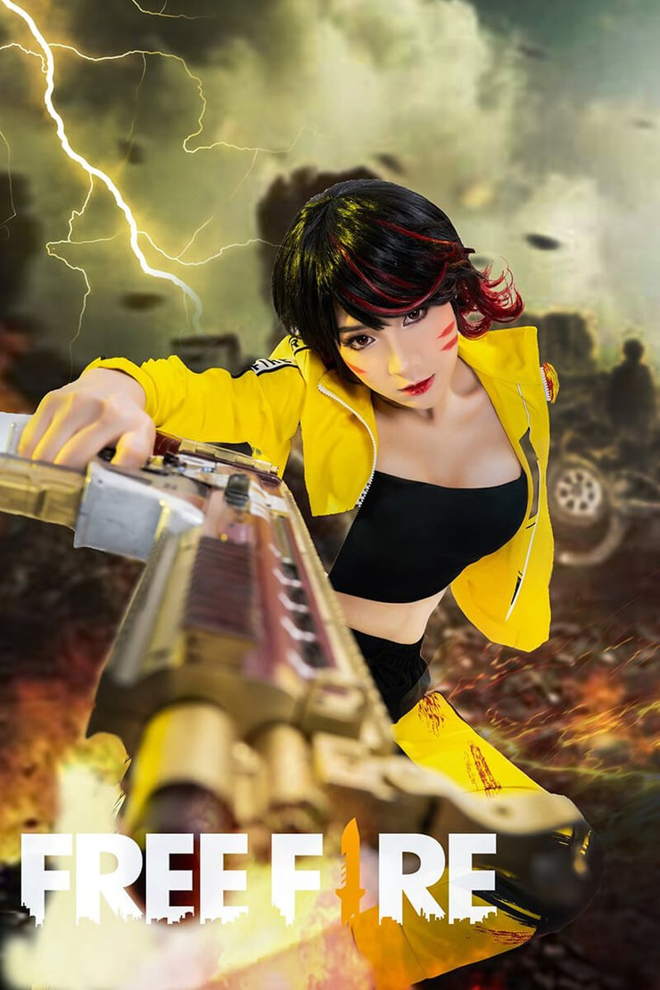 Amazing Cosplay Photoshoot Of Free Fire Characters Makes Players Excited
