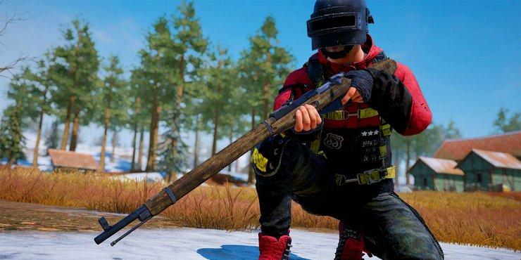 Mosin Nagant is a new sniper gun of Upcoming 0.19.0 Update