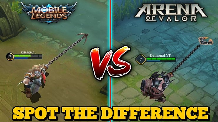 Arena Of Valor Vs Mobile Legends Which Game Is Better