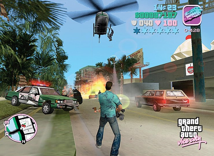 Everything About Grand Theft Auto Vice City In Pc