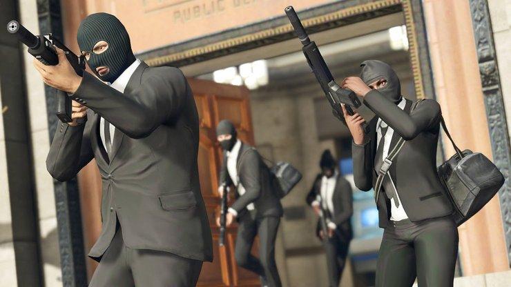 gta 5 online how to earn money heist