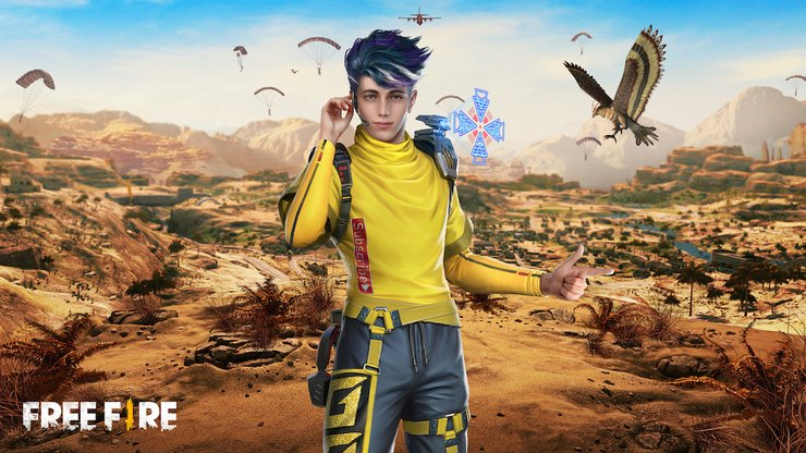Free Fire Falco Pet Name Style Choose The Best Name For New Bird Pet