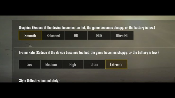 best control setting for pubg