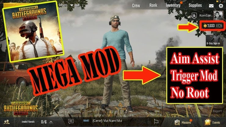 Pubg Mobile Mod Apk Aimbot Features