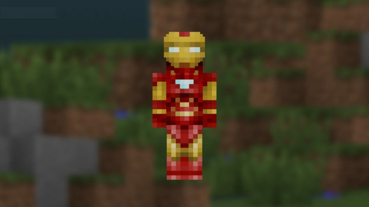 minecraft skins to download for free Iron Man Skin