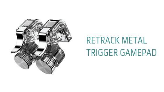 Retrack Metal Trigger Gamepad Fire Button Aim Key