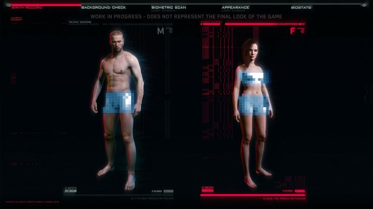 Cyberpunk 2077 Japan Censor character creation tools are the closest we've got ...
