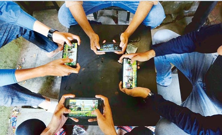 PUBG EPIDEMIC SPREADS IN INDIA! - Mobile Games