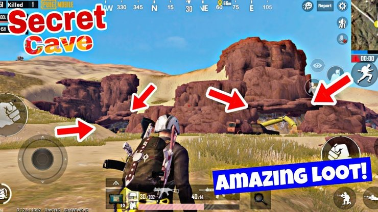 Pubg Secret Loot Spots In All Maps Pubg Mobile Video