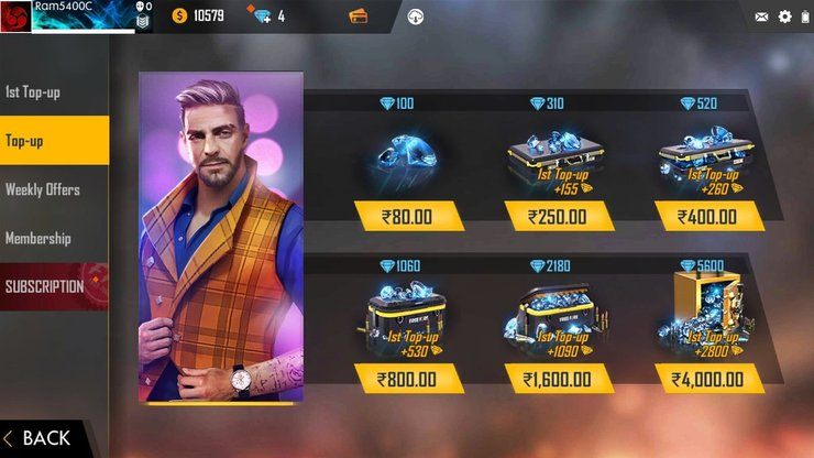 Free Fire Top Up 5 Rupees How To Top Up Diamonds With Just Inr 5