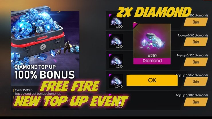 Free Fire Diamond Top Up List Price Methods Apps More