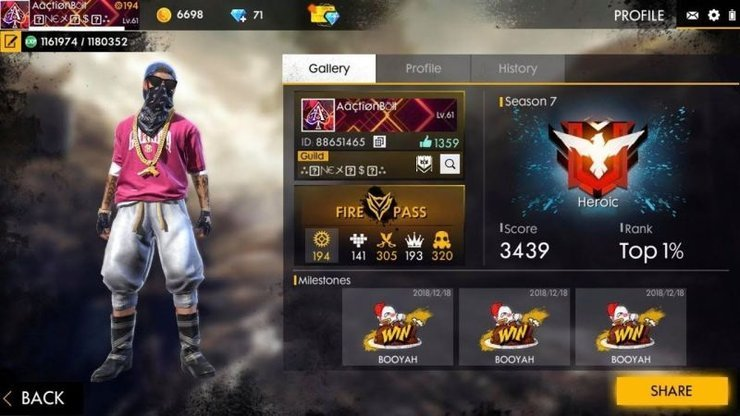 Cool Names For Free Fire: How To Create Your Own Style