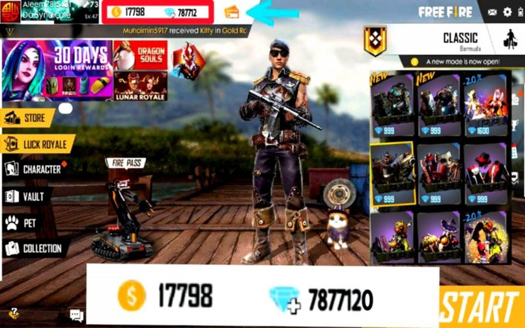 Completed Guide On How To Get Diamonds In Free Fire Without Top Up