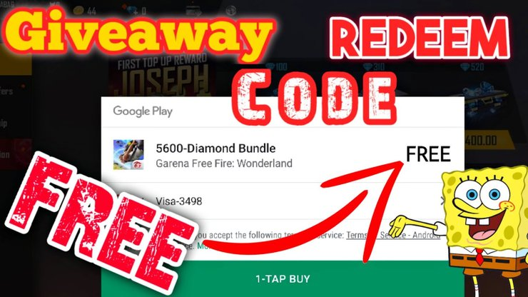 Redeem Code For Free Fire Top Up How To Get Diamonds For Free