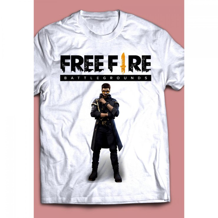 Where To Buy Free Fire T Shirt Alok And How Much Will It Cost