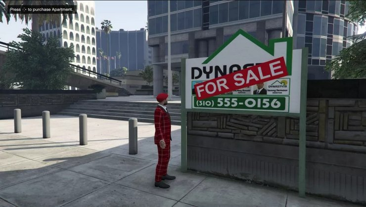 how to buy a house on gta 5 online